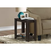 Monarch Accent Side Table, Cappuccino