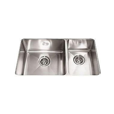 Franke Professional 31.88'' x 18.13'' Double Bowl Kitchen Sink