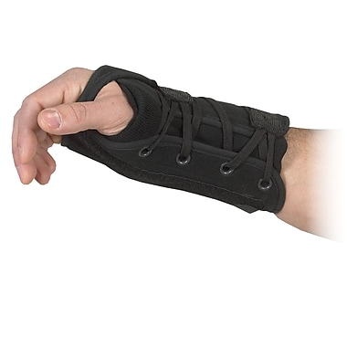 Mutual Industries Bilt-Rite Lace-up Wrist Support, Left Hand, 2/Pack