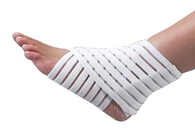 Bilt-Rite Mutual, Segmented Ankle Wrap, Unisex ,6 pack (10-22000-6)