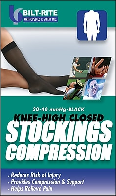 Bilt-Rite Mutual Comfortable Knee-High Stockings, Medium
