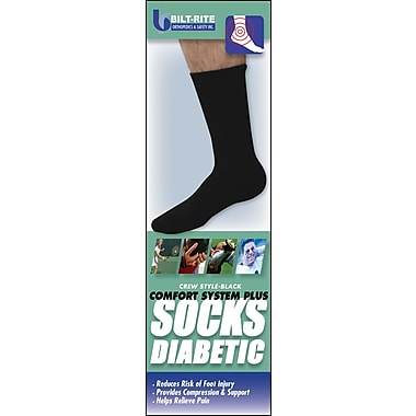 Bilt-Rite Mutual, BR Sox Plus System, Black, Unisex, 2 pack (10-86021-MD-2)