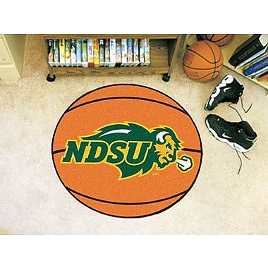 FANMATS NCAA North Dakota State University Basketball Mat