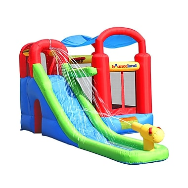 Bounceland Water Slide w/ Playstation Bounce House