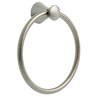 Franklin Brass Somerset Wall Mounted Towel Ring; Satin Nickel