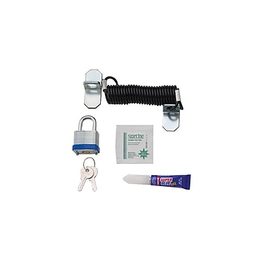 Chief® (MIL-CH-LC1) Cable Lock Kit, Silver