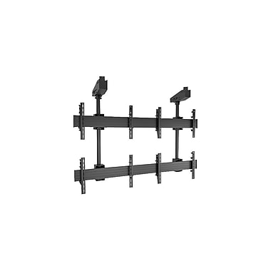 Chief® (MIL-CH-LCM2x2U) Micro Adjustable Large Ceiling Mounted Video Wall Solutions, Black