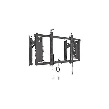 ChiefMD – Support sans rails pour mur vidéo mode paysage ConnexSysMC (MIL-CH-LVSXU), 21,8 x 35,5 x 4 po, noir