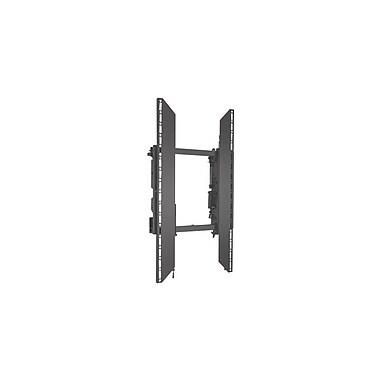 ChiefMD – Support sans rails pour mur vidéo mode paysage ConnexSysMC (MIL-CH-LVSxUP), 32,5 x 19,5 x 4,1 po, noir