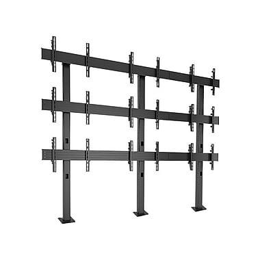 Chief® Fusion™ (MIL-CH-LBM3x3U) Bolt-Down Freestanding Video Wall Cart, Large, 90.9