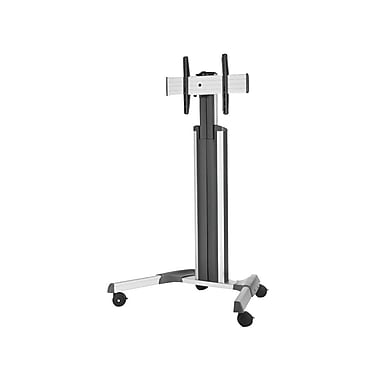Chief® Fusion™ (MIL-CH-MPAUS) Manual Height Adjustable Mobile AV Cart, Medium, 77.9