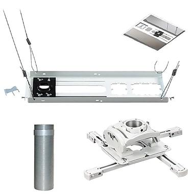 ChiefMD – Support de plafond prêt-à-monter pour projecteur (KITMZ006W), blanc