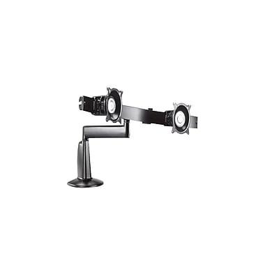 Chief® (MIL-CH-KCS220B) Dual Monitor Single Arm Desk Mount, 13.5