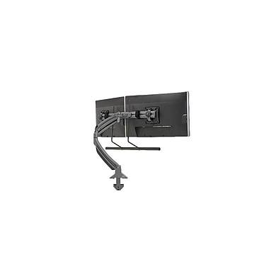 ChiefMD – Support de bureau dynamique double à pince pour moniteur (MIL-CH-K1D22HB), noir