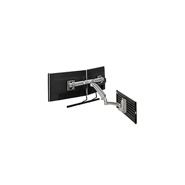 Chief® (MIL-CH-K1S22HS) Dynamic Dual Monitor Array Slat wall Mount, Silver