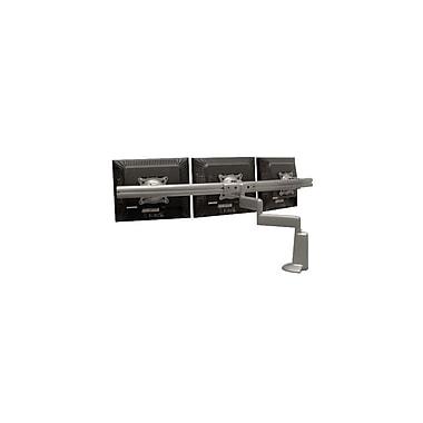 Chief® (MIL-CH-KCD320B) Dual Arm Triple Monitor Desk Mount, 13.5