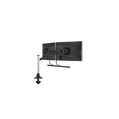 Chief® (MIL-CH-K2C22HB) Articulating Column Mount with Dual Monitor Array, Black