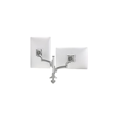Chief® (K2C220SxF1) Articulating Column Mount with Steelcase® FrameOne™ Interface, Silver