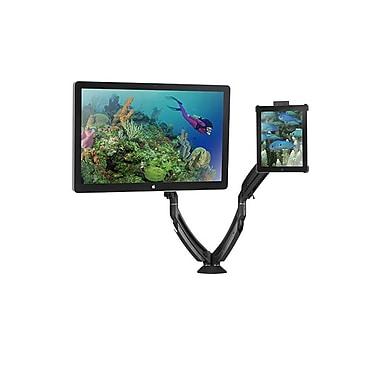 ChiefMD – Support de bureau à pince avec interface portable pour iPad (K1D220BxI2B), noir