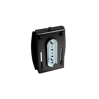 Chief® (MIL-CH-OFBUB) Universal Office Furniture Slat Wall Interface Bracket, Black