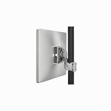 Chief® (MIL-CH-K0P100S) Pole Mount with Extreme Tilt Pitch/Pivot, Silver