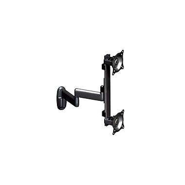 Chief® (MIL-CH-KWD230B) Dual Monitor Vertical Swing Arm Wall Mount, 19