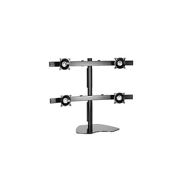 Chief® (MIL-CH-KTP445B) Widescreen Quad Monitor Table Stand, 28 1/2