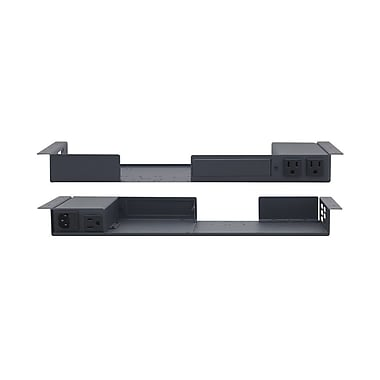 Kramer (KC-RK-1UTB) Under Table Rack Enclosure for 1/2 Rack Size and 2 Wall Plate Inserts