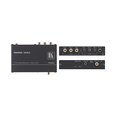 Kramer (KC-103AV) 1:3 Composite (U) Audio Da