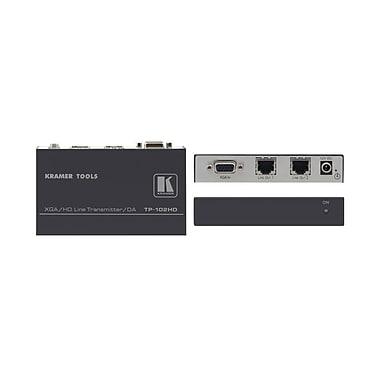 Kramer – (KC-TP-102HD) Émetteur XGA et HD vers 2 paires torsadées - Portée étendue