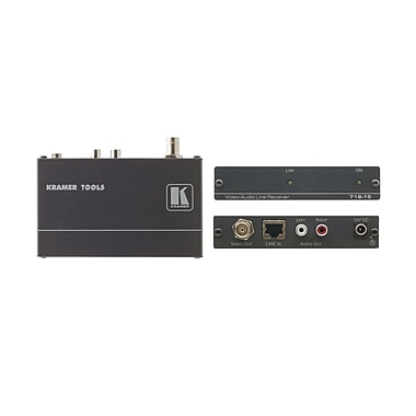 Kramer (KC-718-05) Composite Video and Stereo Audio Over Twisted Pair Receiver - 1640'