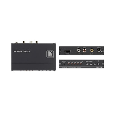 Kramer (KC-VP-410) Composite Video and Stereo-Audio To HDMI Scaler