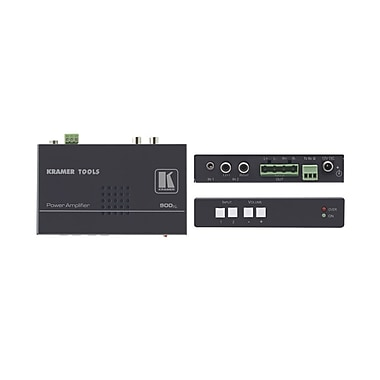 Kramer (KC-900xl) Stereo Audio Amplifier, 2 Inputs, 10W Per Channel, Rs-232 Switching/Volume Control