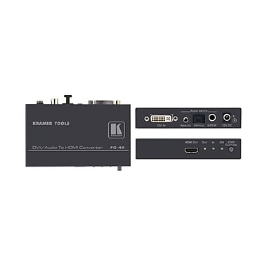 Kramer (KC-FC-49) Dvi and Audio To HDMI format Converter and Audio Embedder