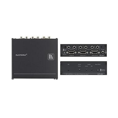 Kramer – Amplificateur de distribution 1:2 XGA (U) avec traitement de synchronisation Kr-IspMC (KC-VP-2K)