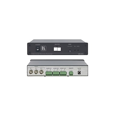 Kramer (KC-VS-24xl) 2X1 Composite and (B) Audio Standby Switcher