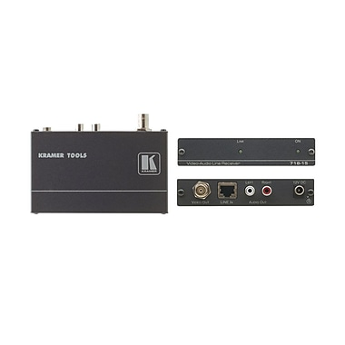 Kramer (KC-718-15) Composite Video and Stereo Audio Over Twisted Pair Receiver - 4921'