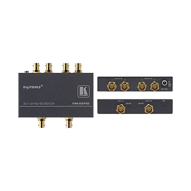 Kramer (KC-VM-22HD) Dual-Mode 1:2 Sd/Hd-Sdi Distribution Amplifier