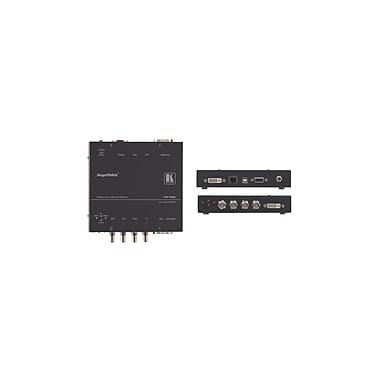 Kramer – Conver. de résolution num. HQV de multiples formats à DVI/HDMI avec distorsion, HQV et trait. géométrique (KC-VP-792)