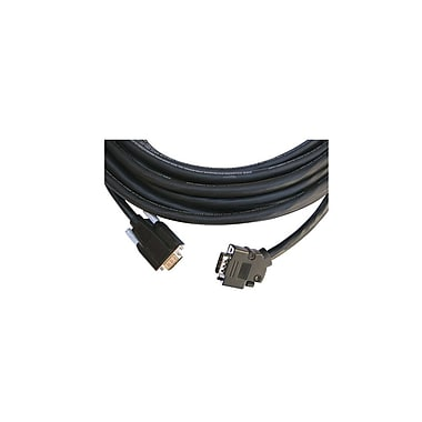 Kramer (CPGM/GM/XL-50) 15-Pin Hd (M-M) Plenum Cable, 50', Black