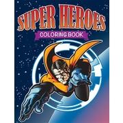 Super Heroes Coloring Book
