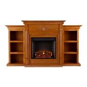 SEI Tennyson Wood/Veneer Electric Floor Standing Fireplace