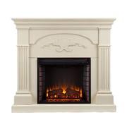 SEI Sicilian Harvest Wood/Veneer Electric Floor Standing Fireplace