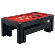 Hathaway BG2530PR Park Avenue 7' Pool Table Combo Set