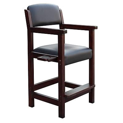Carmelli BG2556M Cambridge Spectator Wooden Chair, Rich Mahogany