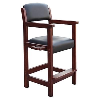 Carmelli BG2556W Cambridge Spectator Wooden Chair, Antique Walnut
