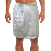 Radiant SA5127 Men's Spa & Bath Terry Cloth Towel Wrap, White