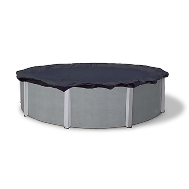 Arctic Armor BWC701 Blue Round Above-Ground 8 Year Winter Pool Cover, 19'