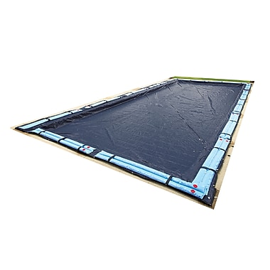 Arctic Armor BWC746 Blue Rectangular In Ground 8 Year Winter Pool Cover, 20' x 36'