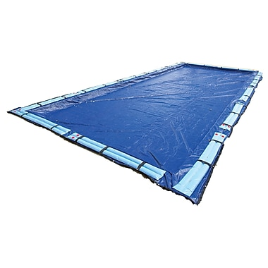 Arctic Armor BWC950 Blue Rectangular In Ground 15 Year Winter Pool Cover, 16' x 24'